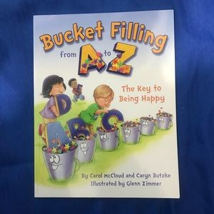 Children's Toddler Book Titled BUCKET FILLING A to Z NEW Softcover Gift Learning